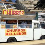 Venta ambulante de churros