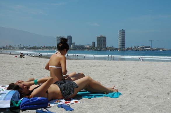 Playa Mujeres en la