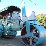 Antiguo tractor