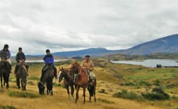 <i>Horseback Riding at an Estancia</i>