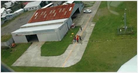 Volando sobre el Pacífico y la isla de Chiloé