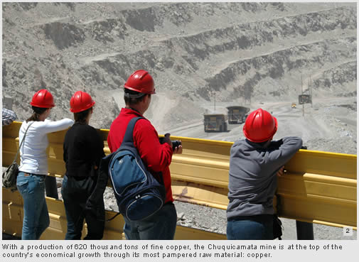 Chuquicamata, the largest copper mine in the world