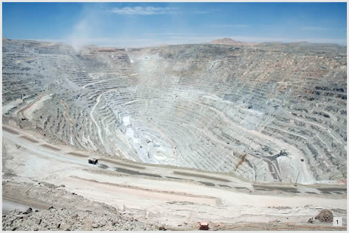 Visit to the largest copper mine in the world
