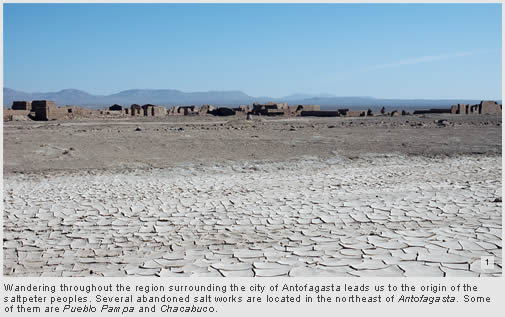 Visit to the salt works in Antofagasta