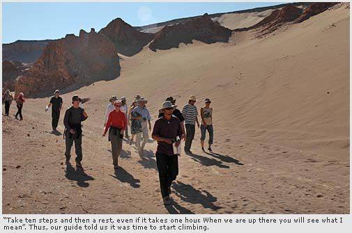 Visit to the Valley of Death - San Pedro de Atacama