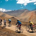 Mountain bike en La Cordillera